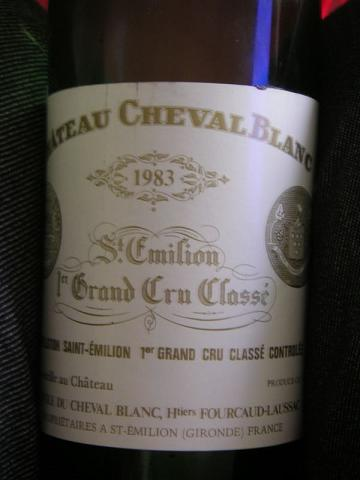 Cheval Blanc label