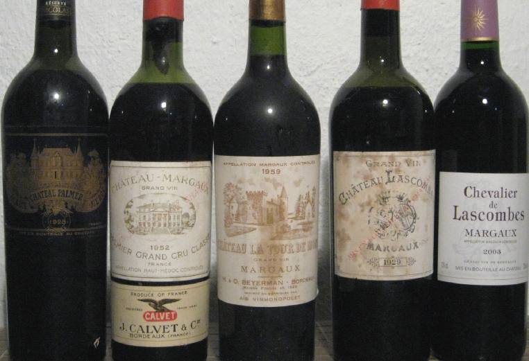 Margaux bottles