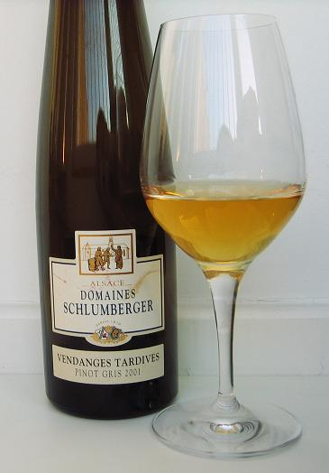 Pinot Gris from Alsace